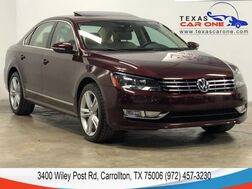 2012_Volkswagen_Passat_TDI SEL PREMIUM AUTOMATIC NAVIGATION SUNROOF LEATHER HEATED SEAT_ Carrollton TX