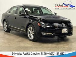 2012_Volkswagen_Passat_TDI SEL PREMIUM AUTOMATIC NAVIGATION SUNROOF LEATHER HEATED SEATS BLUETOOTH_ Carrollton TX