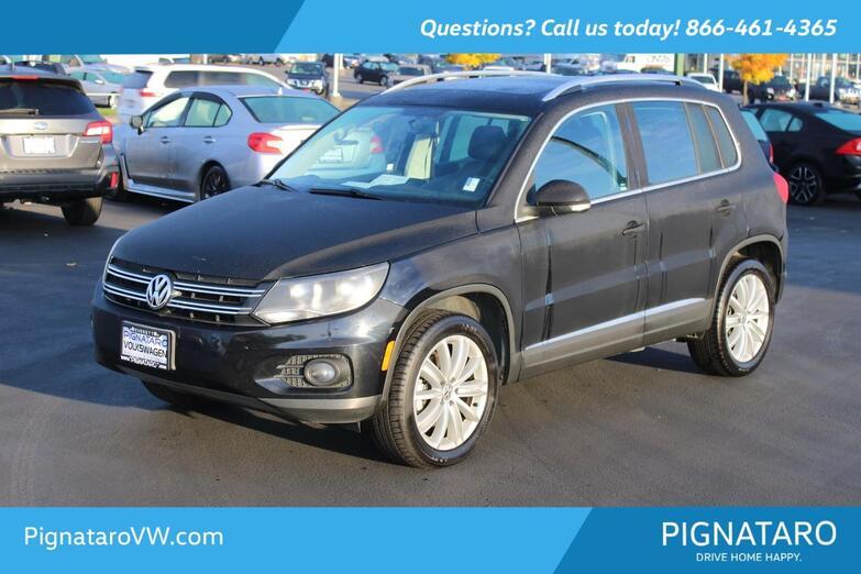 2012 Volkswagen Tiguan SE Everett WA