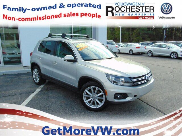 2012 Volkswagen Tiguan SE w/ Sunroof & Navigation Rochester NH