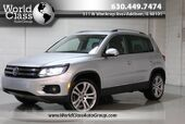 2012 Volkswagen Tiguan SEL - AWD NAVIGATION BACKUP CAMERA POWER ADJUSTABLE HEATED LEATHER SEATS PANO ROOF ALLOY WHEELS TURBOCHARGED ENGINE