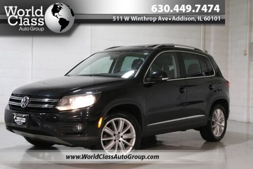 2012 Volkswagen Tiguan SEL - PANO ROOF NAVIGATION POWER ADJUSTABLE HEATED LEATHER SEATS ALLOY WHEELS TOUCHSCREEN RADIO Chicago IL
