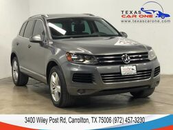 2012_Volkswagen_Touareg_LUX 4MOTION TDI NAVIGATION PANORAMA LEATHER HEATED SEATS REAR CA_ Carrollton TX