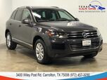 2012 Volkswagen Touareg LUX 4MOTION TDI NAVIGATION PANORAMA LEATHER HEATED SEATS REAR CA