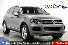 2012_Volkswagen_Touareg_LUX 4MOTION TDI NAVIGATION PANORAMA LEATHER HEATED SEATS REAR CAMERA_ Carrollton TX