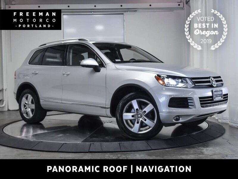 2012 Volkswagen Touareg Lux Diesel AWD Heated Seats Navigation Pano Portland OR