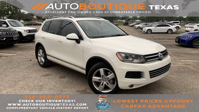 2012 Volkswagen Touareg Lux Houston TX