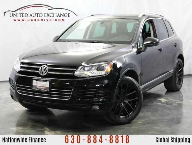 2012 Volkswagen Touareg Lux TDI DIESEL ENGINE / AWD / Panoramic Sunroof / Rear View Came Addison IL