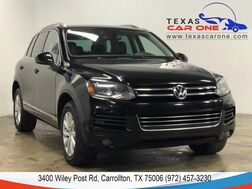2012_Volkswagen_Touareg_SPORT 4MOTION TDI NAVIGATION LEATHER HEATED SEATS REAR CAMERA BL_ Carrollton TX
