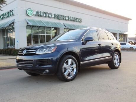 2012 Volkswagen Touareg TDI Lux  AWD, LEATHER SEATS, NAVIGATION, BACKUP CAMERA, HEATED FRONT SEATS, PANORAMIC SUNROOF, Plano TX