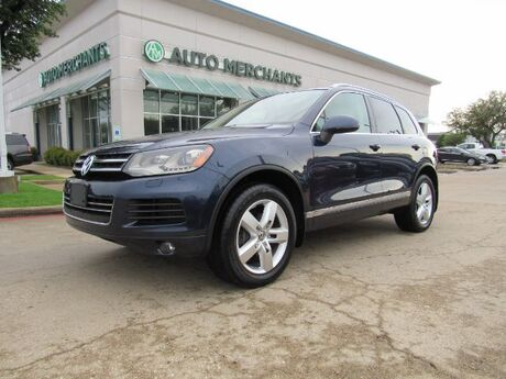 2012 Volkswagen Touareg TDI Lux, Back-Up Camera, Bluetooth Connection, Power Lift Gate, Navigation, Tow Hitch Plano TX