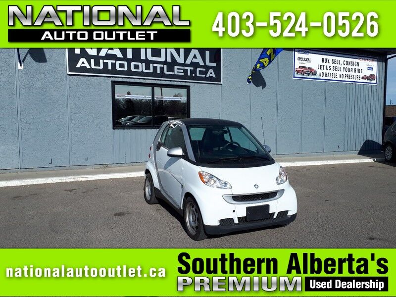 2012 smart fortwo Pure - AUTOMATIC - CLEAN CARFAX Lethbridge AB