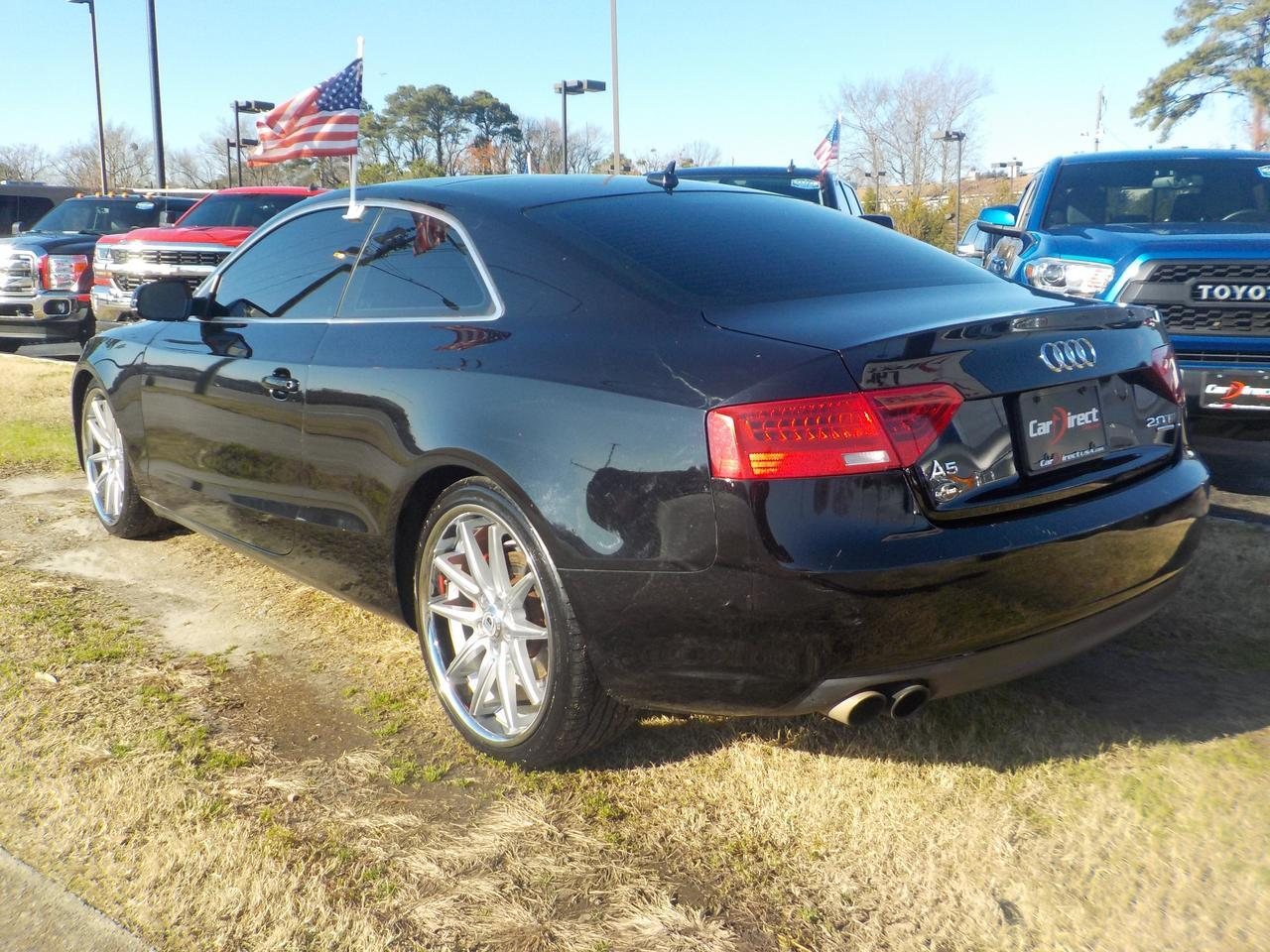 2013 AUDI 4-5 2.0T QUATTRO PREMIUM+ AT AWD, LEATHER SUNROOF, BACKUP CAMERA, ASANTI BLACK LABEL RIMS, BLUETOOTH! Virginia Beach VA