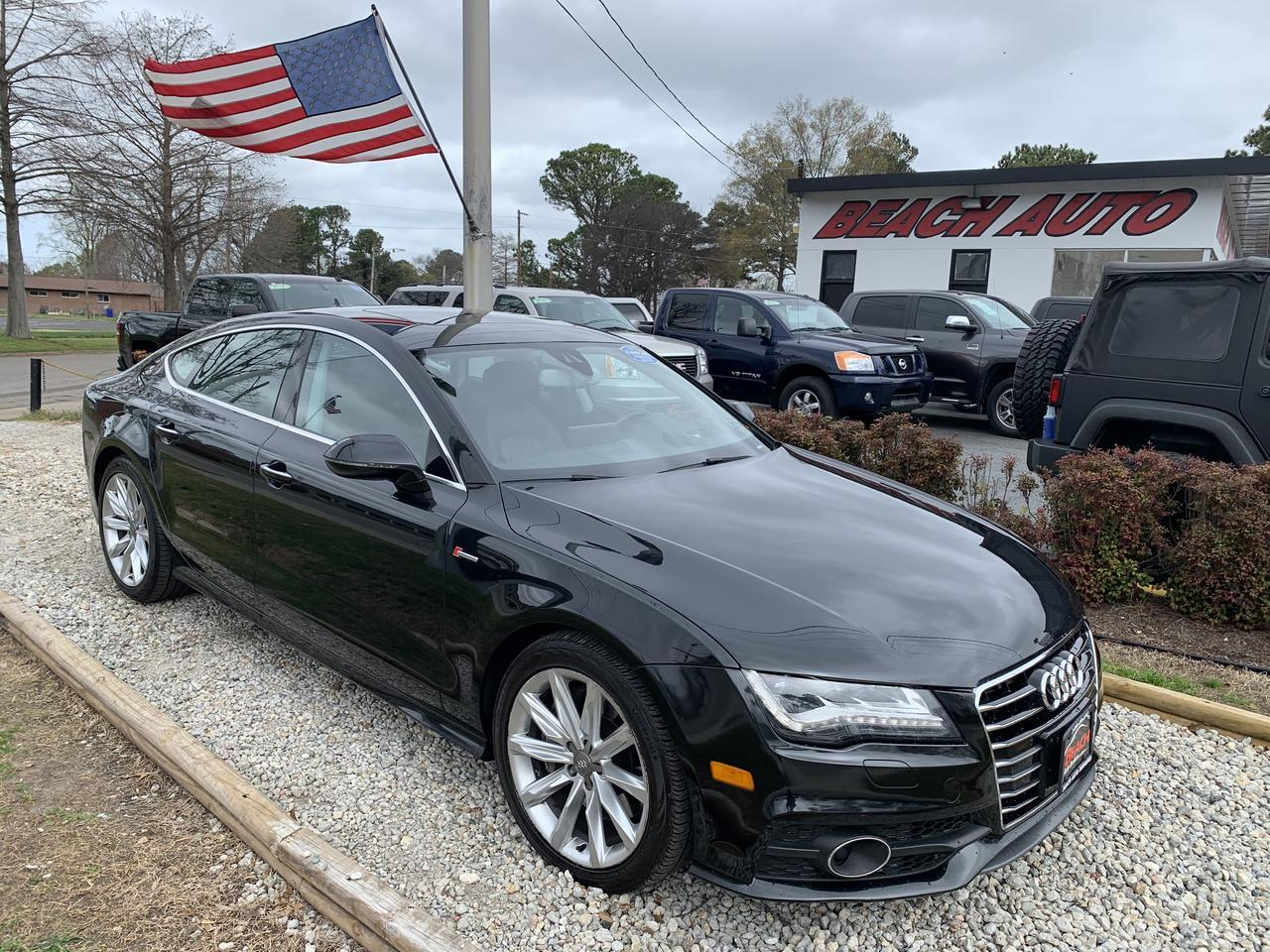 2013 AUDI A7 3.0 PRESTIGE SPORTBACK, WARRANTY, LEATHER, NAVIGATION, SUNROOF, KEYLESS START, HEATED SEATS! Norfolk VA