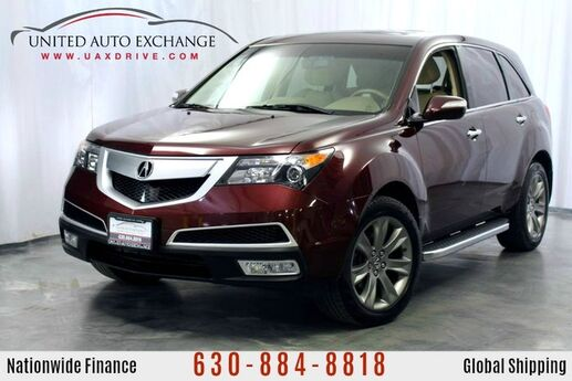 2013 Acura MDX 3.7L V6 Engine **3rd Row Seats** AWD Advance Pkg w/ Navigation, Sunroof, Power Heated leather Seats, Bose Premium Sound System, Rear View Camera Addison IL
