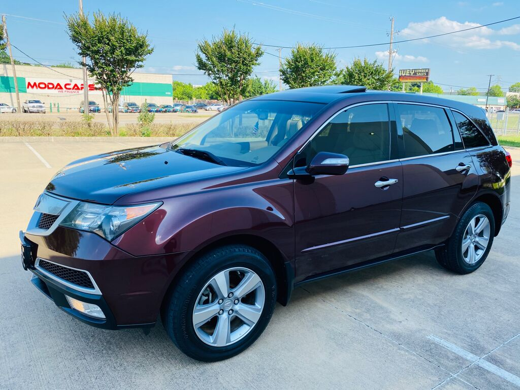 2013 Acura MDX Tech/Entertainment Pkg