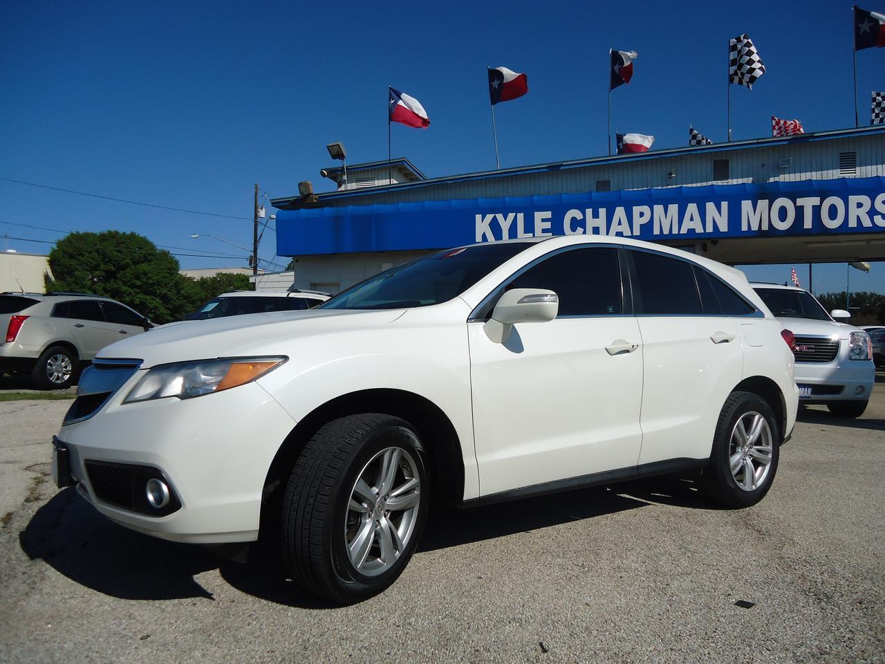2013 Acura RDX Tech Pkg-leather-sunroof-dvd-alloy wheels