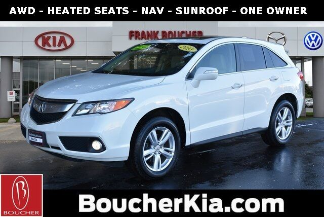 2013 Acura RDX Technology Package Racine WI