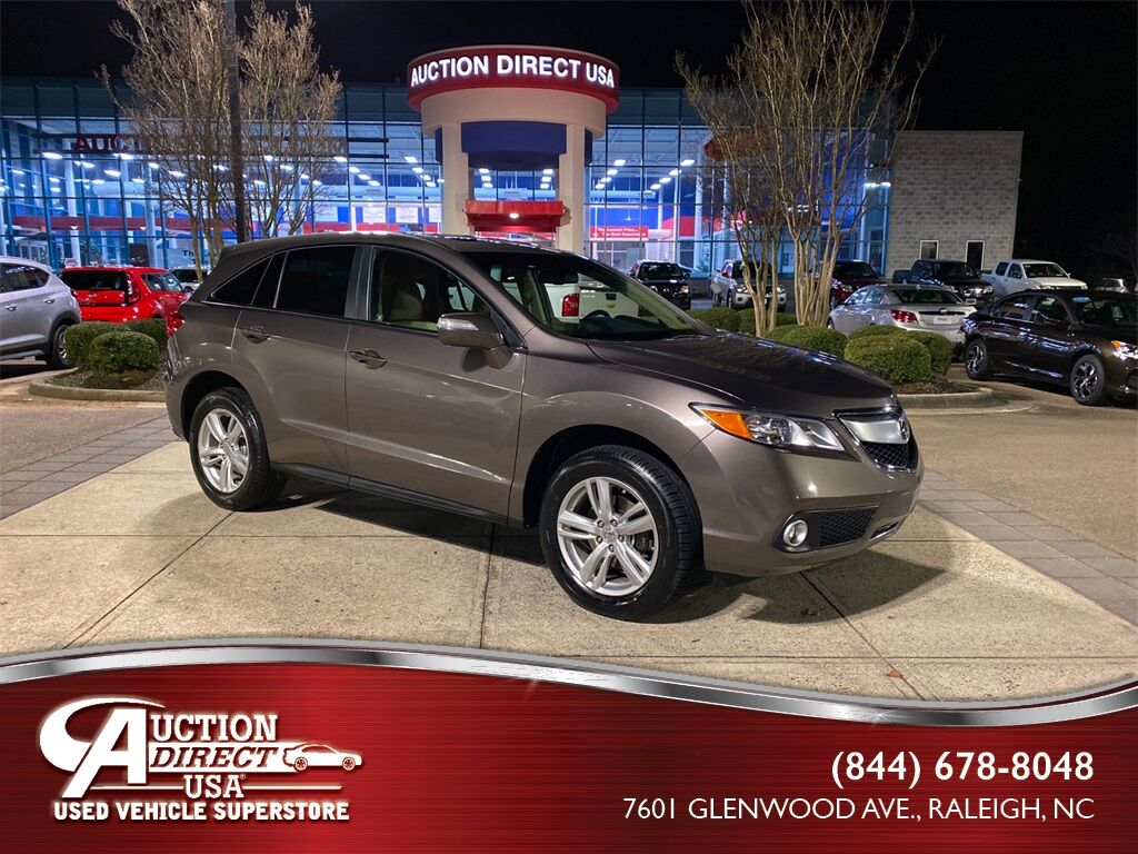 2013 Acura RDX Technology Package Raleigh NC