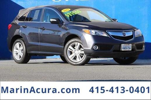 2013 Acura RDX with Technology Package Bay Area CA