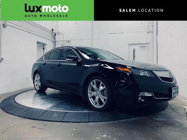 2013_Acura_TL_Advance Ventilated Seats Blind Spot Assist Backup Cam_ Portland OR
