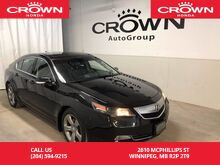 2013_Acura_TL_SH-AWD w/Tech Pkg /NO ACCIDENTS/LEATHER/HEATED SEATS/BLUETOOTH/BACK UP CAMERA_ Winnipeg MB