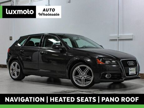 2013 Audi A3 Premium Plus TDI Heated Seats Nav Pano Roof Portland OR