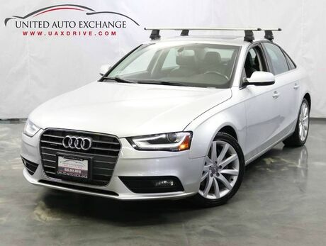 2013 Audi A4 Premium Plus / 2.0L 4-Cyl Engine / AWD Quattro / Navigation / Sunroof / Parking Aid with Rear view Camera / Push Start Addison IL