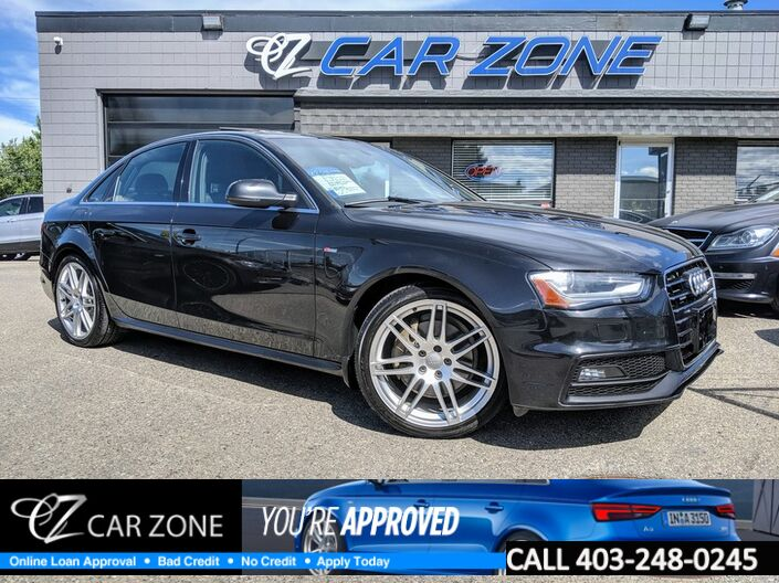 2013 Audi A4 Premium Plus 6 Speed Navigation Calgary AB