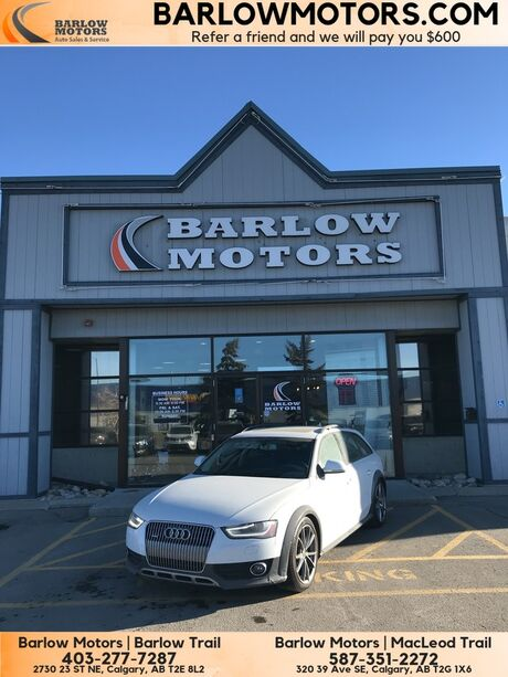 2013 Audi A4 allroad CLEAN CAR FAX INSPECTED  Calgary AB