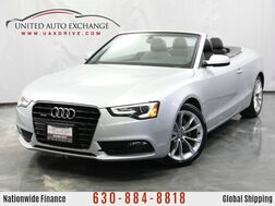 2013_Audi_A5_Premium Plus Convertible / 2.0 Turbocharged Engine / AWD Quattro_ Addison IL