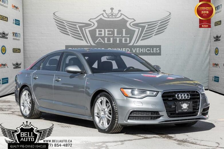 2013 Audi A6 2.0T Premium, S-LINE, NAVI, BACK-UP CAM, BLINDSPOT, SUNROOF, SENSORS Toronto ON