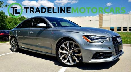 2013 Audi A6 3.0T Prestige SUNROOF, REAR VIEW CAMERA, NAVIGATION, AND MUCH MORE!!! CARROLLTON TX