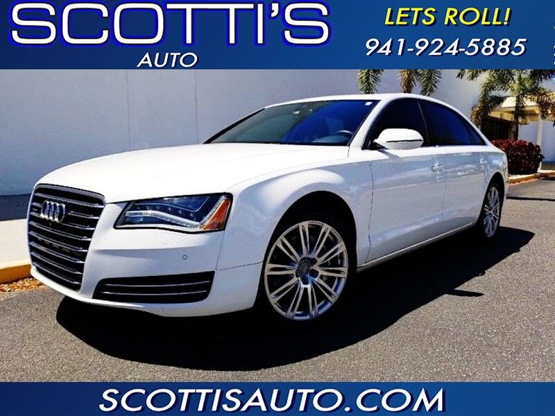 2013 Audi A8 L 3 0L~ LONG WHEEL BASE~ AWESOME COLORS~VERY WELL SERVICED~  CLEAN CARFAX~ FINANCE AVAILABLE~