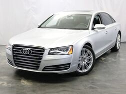 2013_Audi_A8 L_3.0L Supercharged Engine / Quattro AWD / Sunroof / Navigation / Heated + Ventilated Seats / BOSE Sound System / Bluetooth / Push Start / Parking Sensors with Rear View Camera_ Addison IL