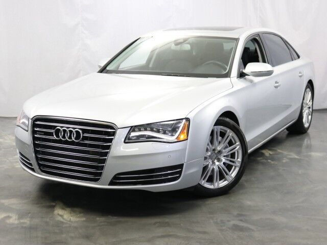 2013 Audi A8 L 3.0L Supercharged Engine / Quattro AWD / Sunroof / Navigation / Heated + Ventilated Seats / BOSE Sound System / Bluetooth / Push Start / Parking Sensors with Rear View Camera Addison IL