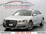 2013 Audi A8 L 4.0L Twin-Turbocharged V8 Engine Quattro AWD With Panoramic Sunroof, Navigation, Front and Rear Parking Aid with Rear View Camera & 14-speaker Bose Premium Surround Sound System