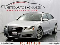 2013_Audi_A8 L_4.0L Twin-Turbocharged V8 Engine Quattro AWD With Panoramic Sunroof, Navigation, Front and Rear Parking Aid with Rear View Camera & 14-speaker Bose Premium Surround Sound System_ Addison IL