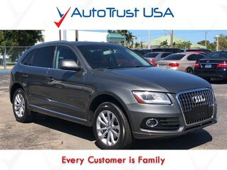 Audi Q5 PREMIUM PLUS QUATTRO 1 OWNER NAV SUNROOF BACKUP CAM 2013