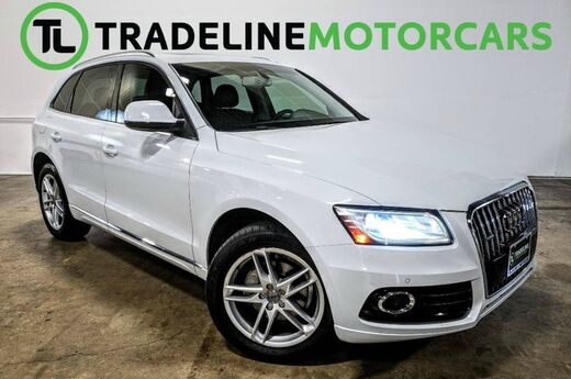 2013 Audi Q5 Premium Plus REAR VIEW CAMERA, BLUETOOTH, LEATHER AND MUCH MORE! CARROLLTON TX