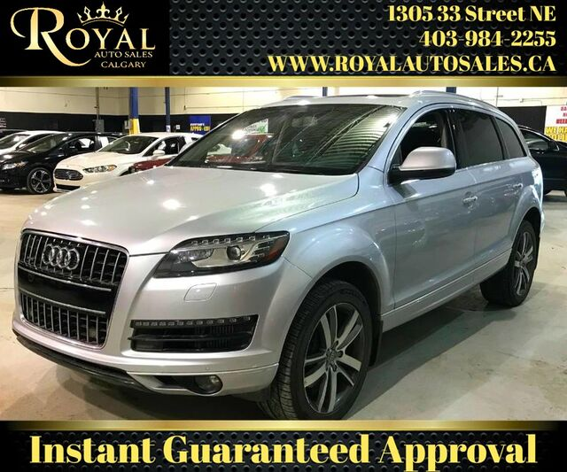 2013_Audi_Q7_3.0L TDI Premium DIESEL, FULLY LOADED, 3rd ROW SEATING_ Calgary AB