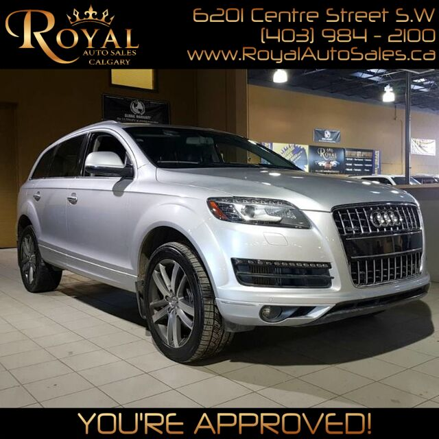 2013_Audi_Q7_3.0L TDI Premium w/ POWER EVERYTHING, LEATHER, NAVI_ Calgary AB