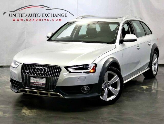 2013 Audi allroad Premium Plus 2.0L Turbocharged Engine / AWD Quattro / Panoramic Sunroof / Rear Parking Aid with Back-Up Camera / Navigation / Bluetooth / Push Start Addison IL