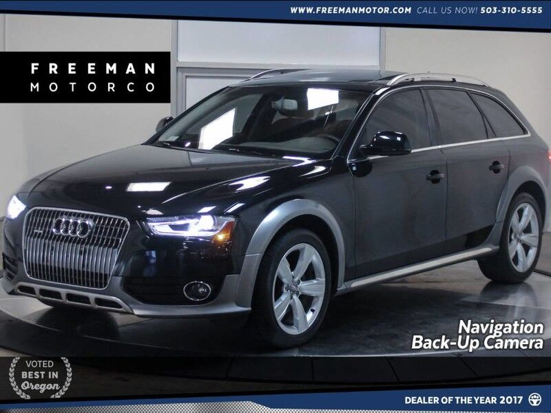 2013 Audi allroad Quattro Premium Plus Back-Up Cam Nav Pano Portland OR