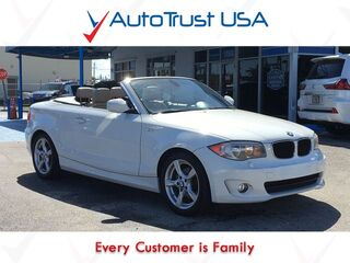 BMW 1 Series 128I LEATHER CONVERTIBLE BLUETOOTH LOW MILES 2013