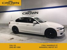 2013_BMW_3 Series_320i X-Drive *Spoiler ** Black Alloys** Navigation** AWD** Heated Steering Wheel** Turbo** Local Manitoba Lease Return**_ Winnipeg MB