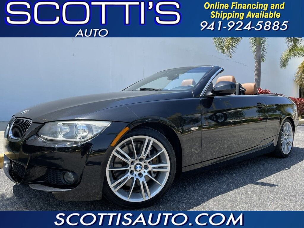 2013 BMW 3 Series 335i~ HARD TOP CONVERTIBLE~M-SPORT PACKAGE~TWIN TURBO~ ONLY 57LK MILES~ BROWN LEATHER~ RUNS GREAT~ NAVIGATION~ WE OFFER ONLINE FINANCE AND SHIPPING! APPLY ONLINE TODAY!