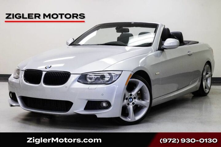 2013 BMW 335i M Sport Convertible Navigation low miles Clean Carfax Addison TX