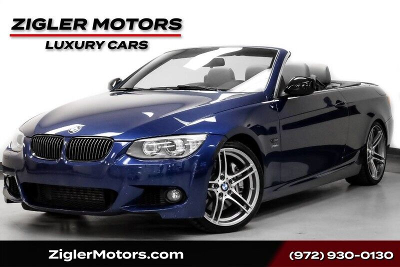 2013 BMW 335is **FREE SHIPPING** M Sport Convertible Rare * Le Mans Blue* 19 M Wheels One Owner Clean Carfax Addison TX