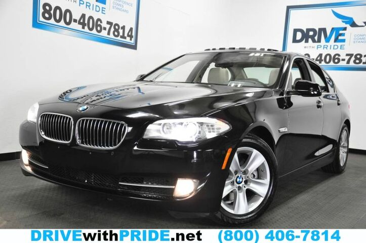 2013 BMW 5 Series 528I PREMIUM 58K NAV CAMERA SENSORS HTD SEATS SUNROOF ALLOYS Houston TX